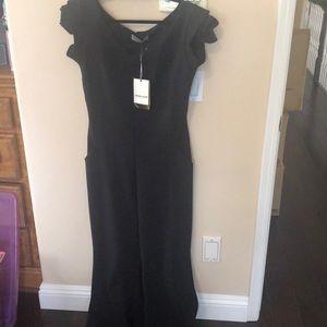 CHIARA BONI jumpsuit BRAND NEW black size 12